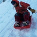 Kelley sledding