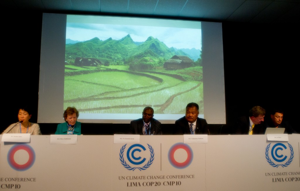 Side event on Adaptation