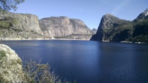 Hetch Hetchy Reservoir, Spring 2016 (photo: Larsen)