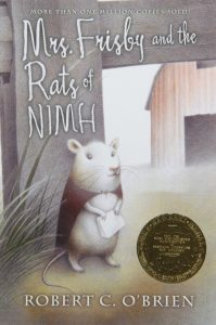 Mrs. Frisby and the Rats of NIMH, by Robert C. O'Brien, Cover Image