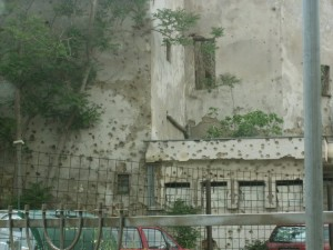 Mostar, BiH. Photo by author, 2011.