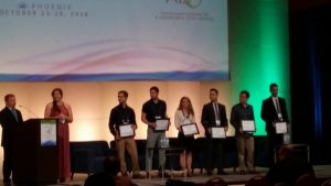 Young Researcher poster competition awardees.