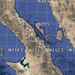 Isla Rasa on Google Earth: 28°49′26.12″N112°58′49.03″W