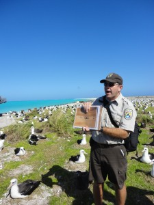 US Fish and Wildlife Service biologist, Pete Leary, shares with us photographs of Eastern Island in the 1940s.