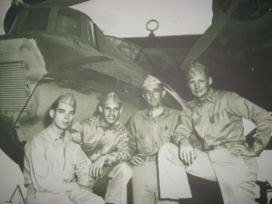 Personnel stationed at Midway during WWII (photo from the National Archives)