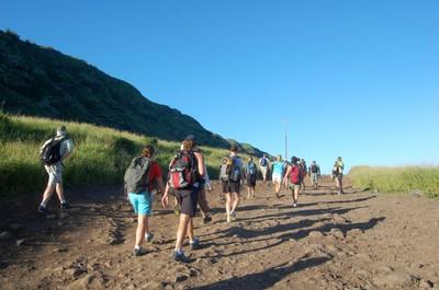 Hiking Out to Ka'ena Point