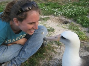 Face to face with an Albatross