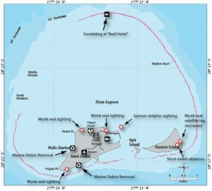 Map that Illustrates Some of the Highlights of our Adventures