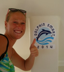 Me proudly supporting HawaiiNautical's DolphinSMART accreditation