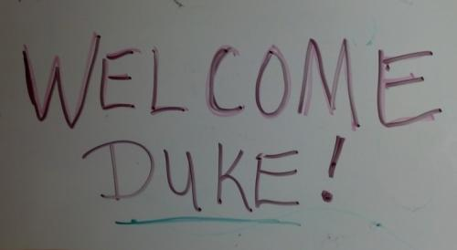 A warm welcome from the entire island