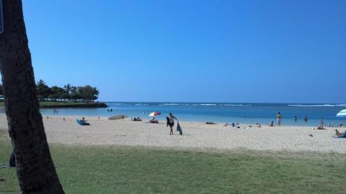 Ana Moana Beach Park in Waikiki