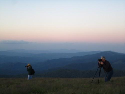 Fellow photographers.