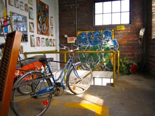 Inside the Phil Mechanic Studio.