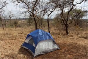 My chosen campsite