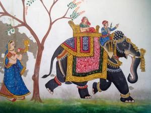 Rajasthani wall art