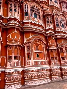 """Hawa Mahal, """"Palace of the Winds,"""" Jaipur"""