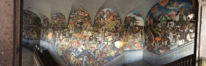 A people's history by Diego Rivera