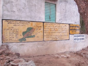 Mural for the Integrated Watershed Management Program by the Indian Government