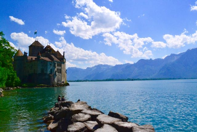 Chatueux de Chillon in Montreux
