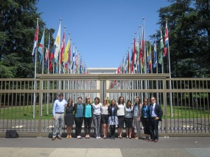 The whole EEE gang ready to visit the UN!