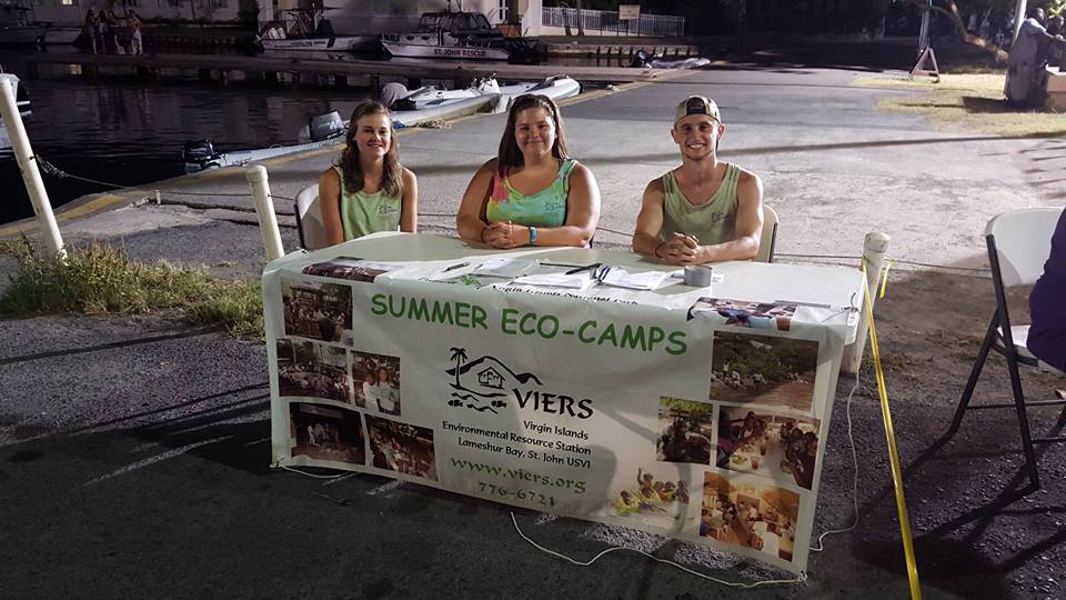 VIERS summer volunteers. Photo courtesy of VIERS.