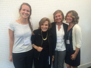 Fellow CEMs and I meeting Dr. Sylvia Earle