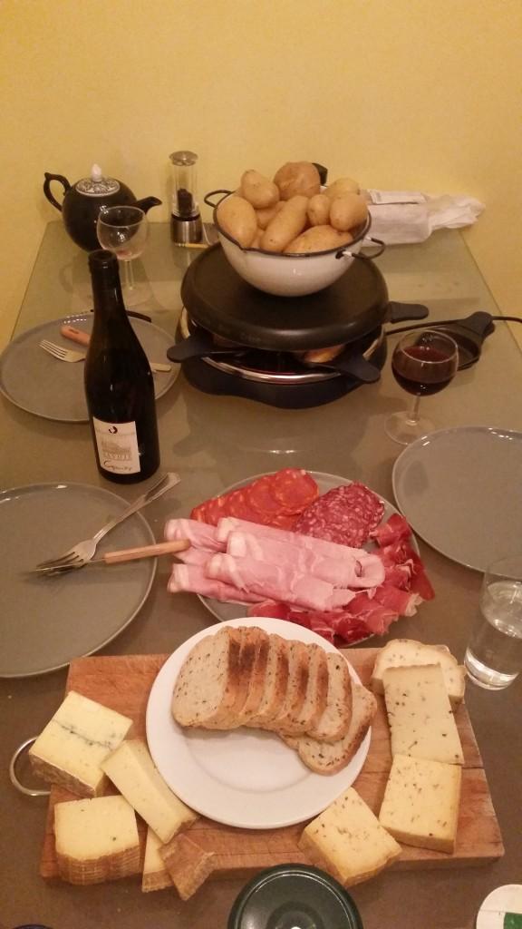 Raclette.
