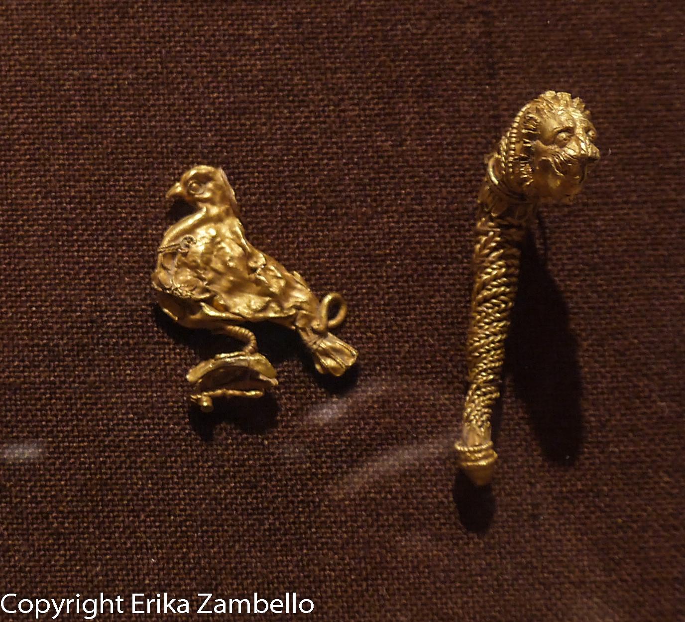 bird, gold, ancient, artifact, bird