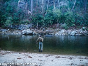 fishing, linville gorge, river, north carolina