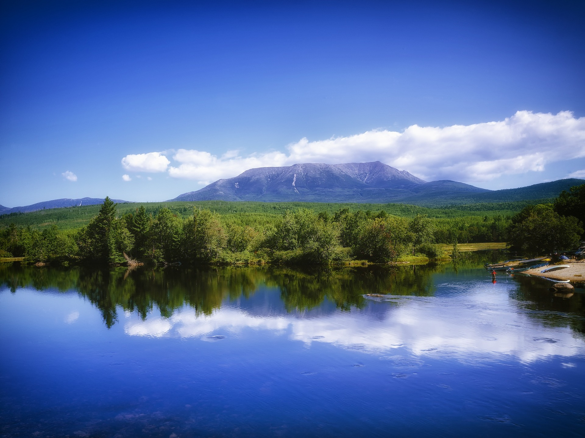 maine, nature, katahdin