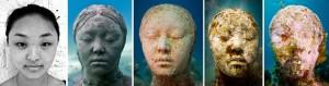 http://www.underwatersculpture.com/sculptures/the-silent-evolution/