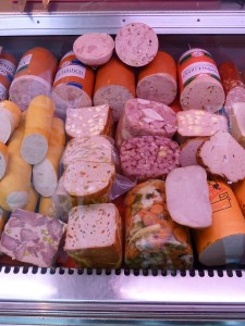 processed meat - free public domain photo