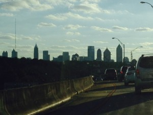 We manage for the resilience of cities just as much as ecosystems. Whenever I'm away, I sure miss the Atlanta skyline.  Similar feelings do not apply to the traffic.